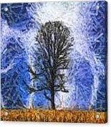 Harvest Storm Acrylic Print