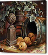 Harvest Time Acrylic Print by Gini Heywood