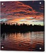 Harveston Sunset Acrylic Print