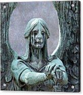Haserot Weeping Angel Acrylic Print