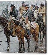 Hashknife Pony Express Acrylic Print