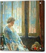 Hassam's The New York Window Acrylic Print