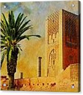 Hassan Tower Acrylic Print by Catf
