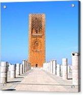 Hassan Tower Rabat Acrylic Print