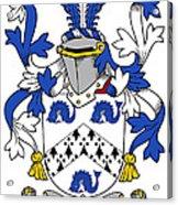 Hassett Coat Of Arms Irish Acrylic Print