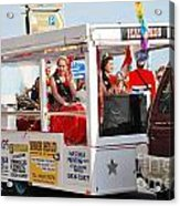 Hastings Carnival Queen Acrylic Print