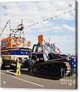 Hastings Lifeboat Acrylic Print