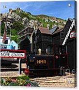 Hastings Miniature Railway  Acrylic Print