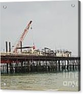 Hastings Pier Reconstruction Acrylic Print