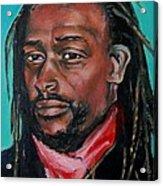 Hat Man - Portrait Acrylic Print
