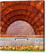 Hatch Memorial Shell Acrylic Print by Susan Cole Kelly
