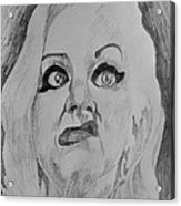 Hatchet Face Acrylic Print