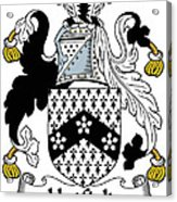 Hatfield Coat Of Arms Irish Acrylic Print