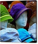 Hats For Sale Acrylic Print
