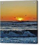 Hatteras Island Sunrise 1 11/03 Acrylic Print