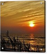 Hatteras Island Sunrise 1 7/31 Acrylic Print