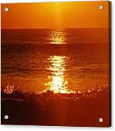 Hatteras Island Sunrise 12 10/2 Acrylic Print
