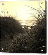 Hatteras Island Sunrise 12 8/28 Acrylic Print