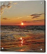 Hatteras Island Sunrise 2 7/30 Acrylic Print