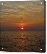 Hatteras Island Sunrise 2 8/21 Acrylic Print