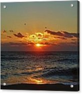 Hatteras Island Sunrise 4 11/03 Acrylic Print