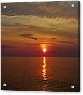 Hatteras Island Sunrise 8/18 Acrylic Print