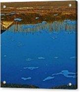 Hatteras Reflection 6 10/31 Acrylic Print