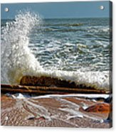 Hatteras Waves Acrylic Print