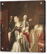 Hauer, Jean Jacques 1751-1829. Louis Acrylic Print