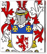 Haugher Coat Of Arms Irish Acrylic Print