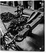 Hauled Anchor Acrylic Print