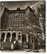 Haunted Baker Hotel Acrylic Print