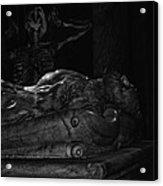 Haunted Crypt Acrylic Print