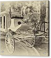 Haunted Mansion Hearse New Orleans Disneyland Heirloom Acrylic Print