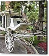 Haunted Mansion Hearse New Orleans Disneyland Acrylic Print