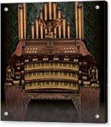 Haunted Pipe Organ Acrylic Print