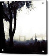 Haunting On All Hallow's Eve Acrylic Print