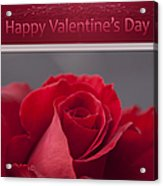 Hau'oli Ka La Aloha Kakou - Happy Valentine's Day Acrylic Print