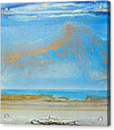 Hauxley Haven Rhythms And Blues  Acrylic Print by Mike   Bell