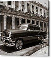 Havana Chevy Acrylic Print