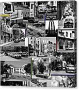 Havana Montage 3 Acrylic Print