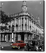 Havana Red Acrylic Print