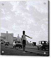 Havana Woman Acrylic Print
