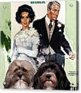 Havanese Art - Father Of The Bride Movie Poster Acrylic Print