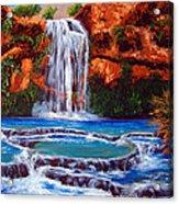 Havasu Falls Cheryln1955@gmail.com Acrylic Print
