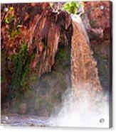 Havasu Falls Study 2 During Flash Flood Acrylic Print