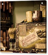 Have A Cigar Acrylic Print by Heather Applegate