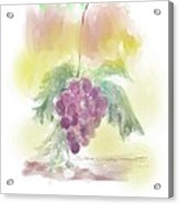 Have A Grape Day Acrylic Print