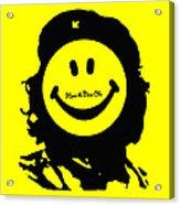 Have A Nice Che Guevara Acrylic Print