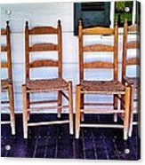 Have A Seat. Acrylic Print